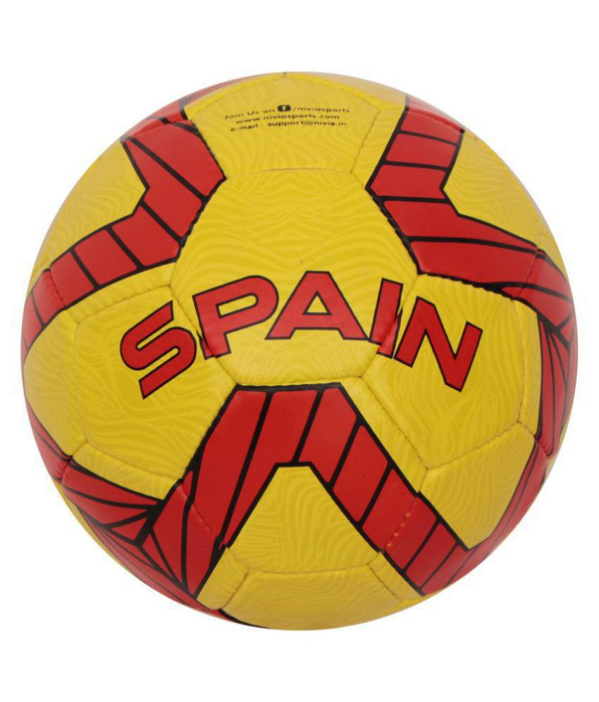 Nivia Kross World Yellow Football Size  5