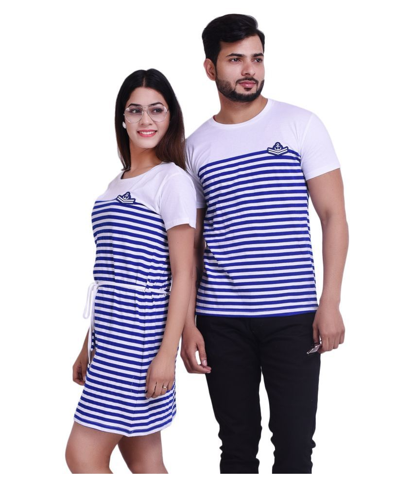 COUPLESTUFF.IN Blue Cotton blend Couple Combo