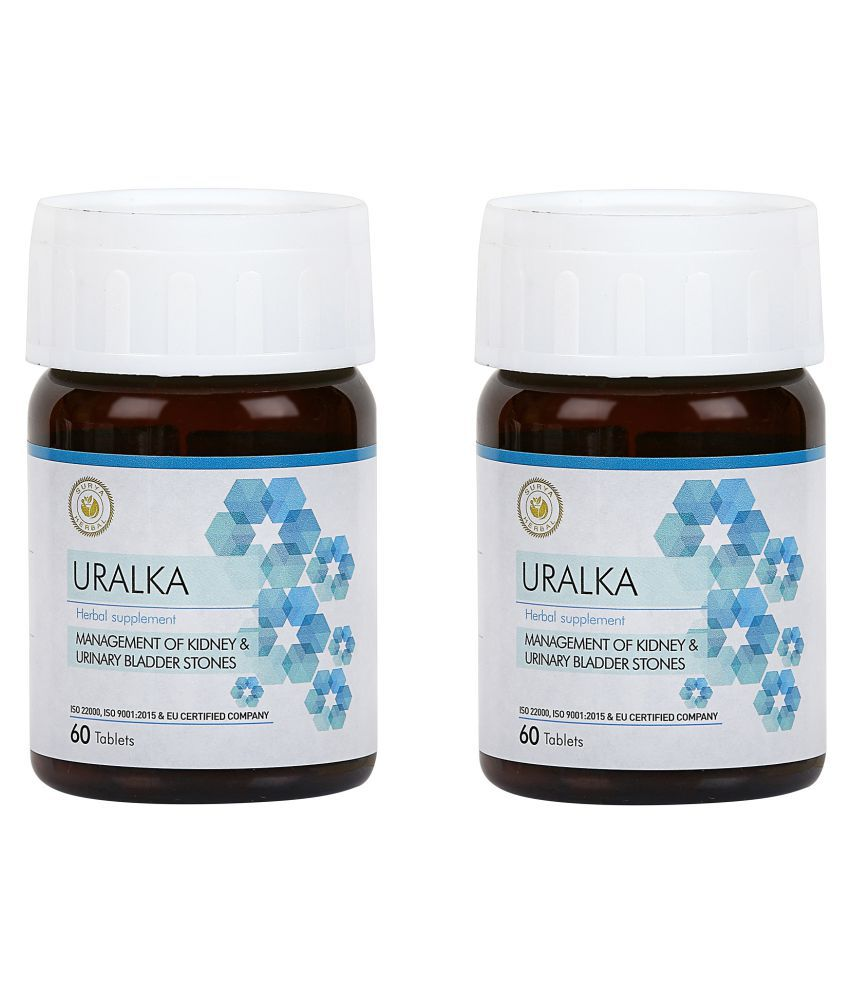 HerbRoot Uralka Tablet 60 no.s Pack Of 2