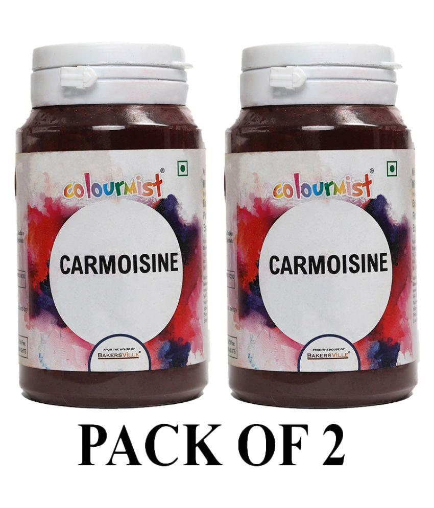 Colourmist Carmoisine Basic Food Colour, 75 g Pack of 2