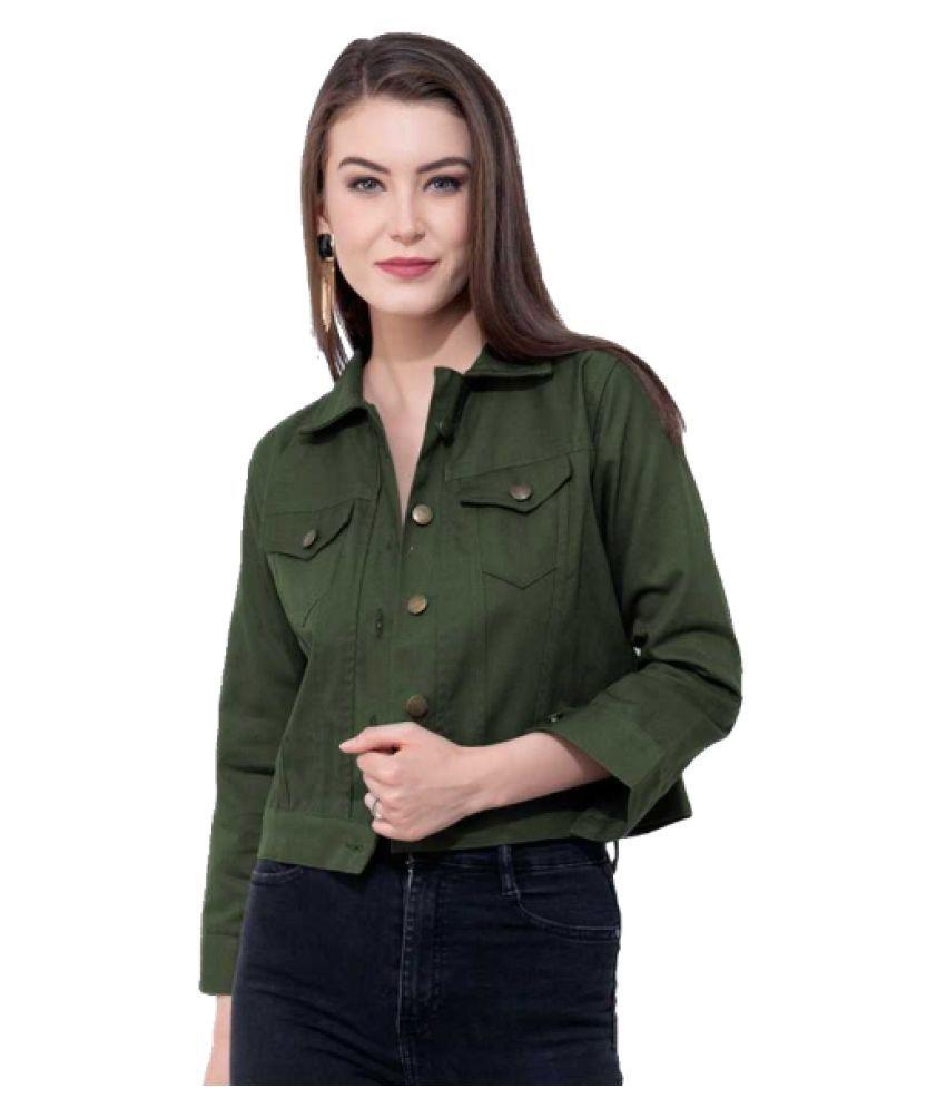 Preserve Denim Green Jackets