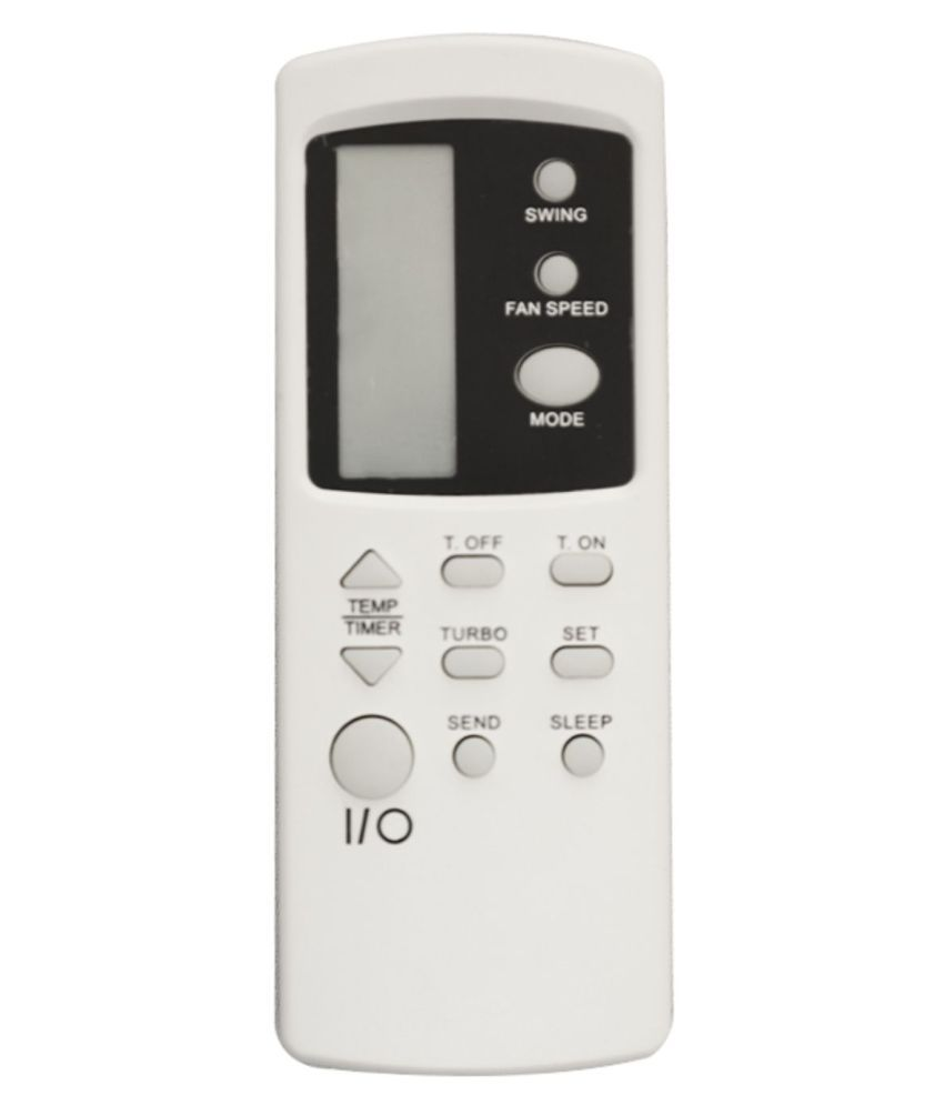 Upix 31 AC Remote Compatible with Voltas Turbo AC