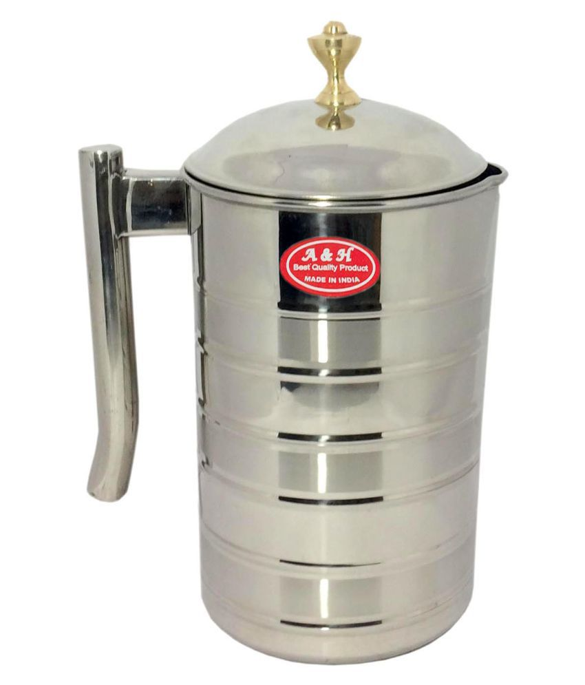 A&H Everyday Use Stainless Steel Jugs 2000 mL