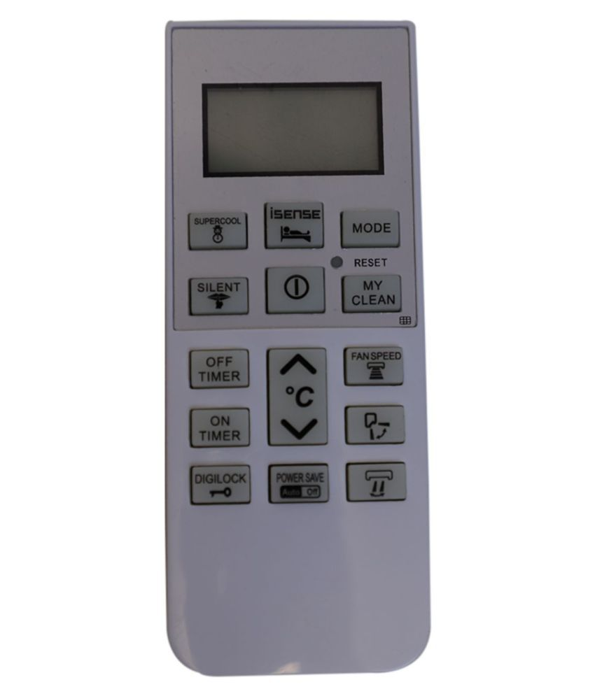 Upix 168 AC Remote Compatible with Hitachi AC