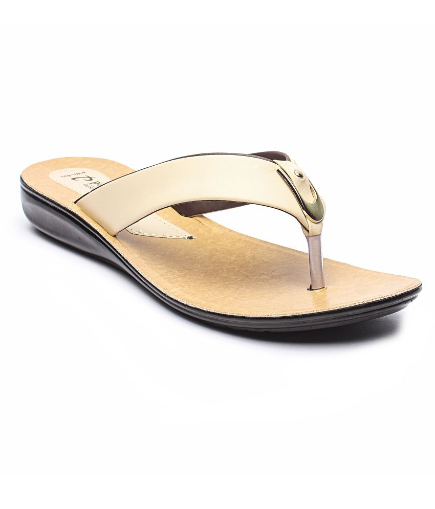 Parry Beige Slippers