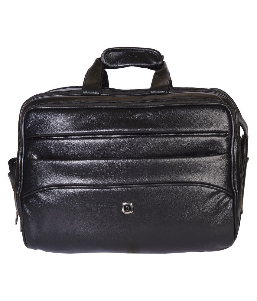 Dicky Black P.U. Office Bag