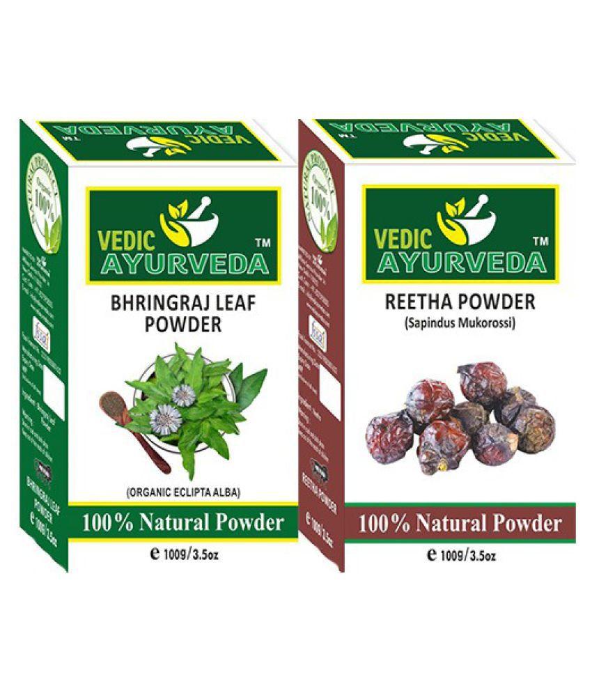 Bhringraj leaf Powder & Reetha Powder