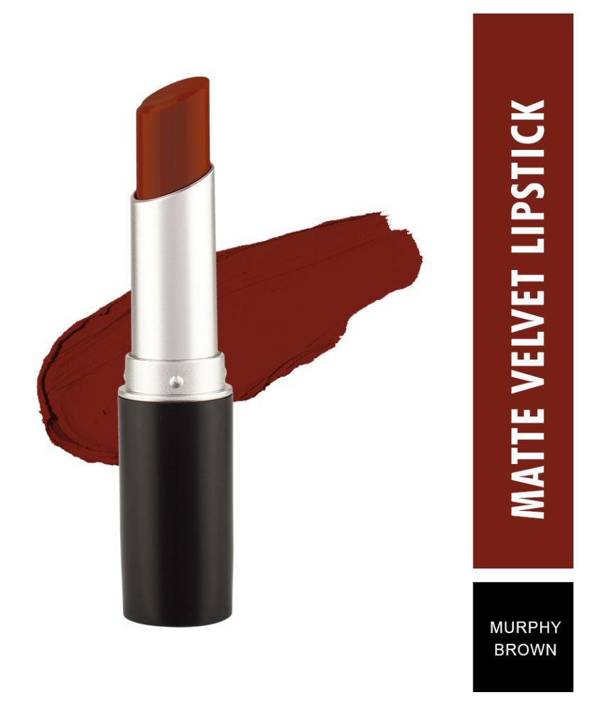 Swiss Beauty Matte Smooth Velvet Lipstick Murphy Brown 3.2 g