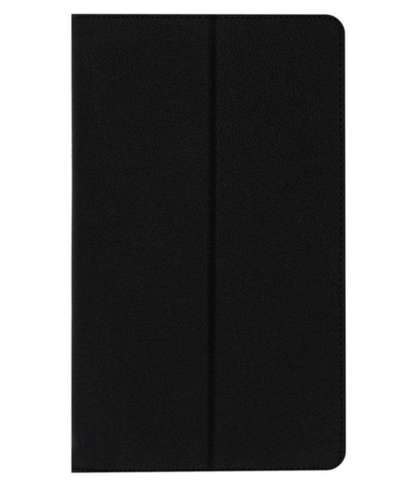 Lenovo Tab 4 8 Plus Flip Cover By Cutesy Black