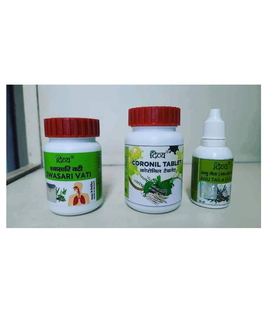Patanjali Coronil KIT Tablet 1 no.s Pack Of 1