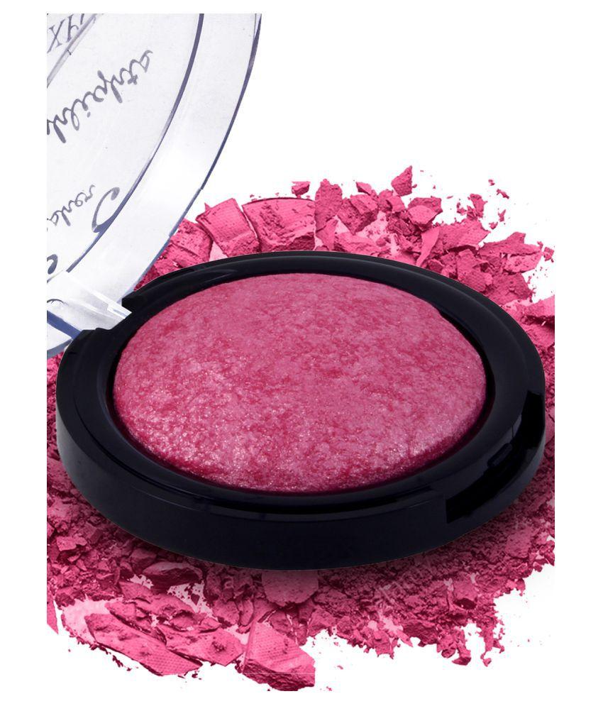 Incolor Pressed Powder Blush 18 Hot Pink SPF 12 9 g
