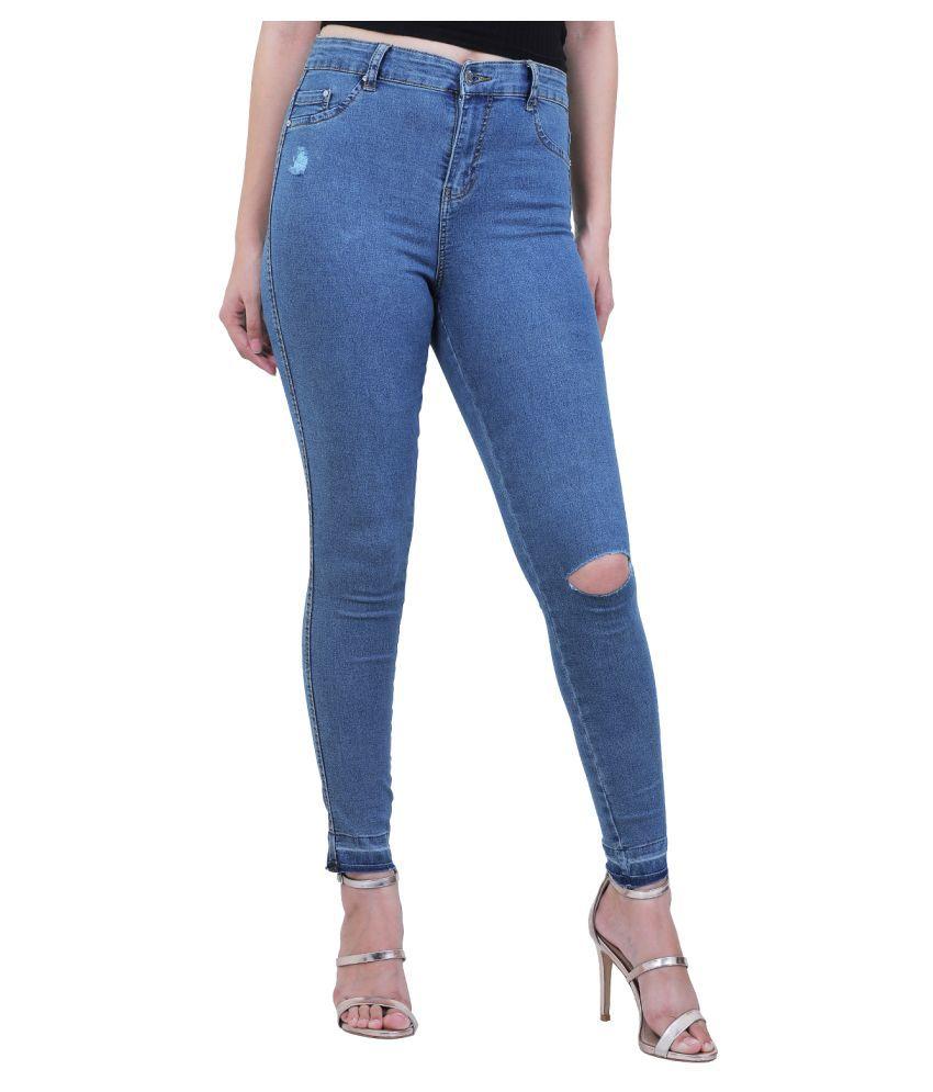 Sisney Denim Lycra Jeans - Blue