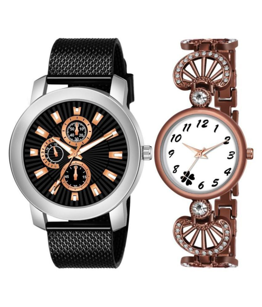 MITLUN NEW ARRIVAL ANALOG WATCH FOR MEN AND WOMEN COUPLE WATCH