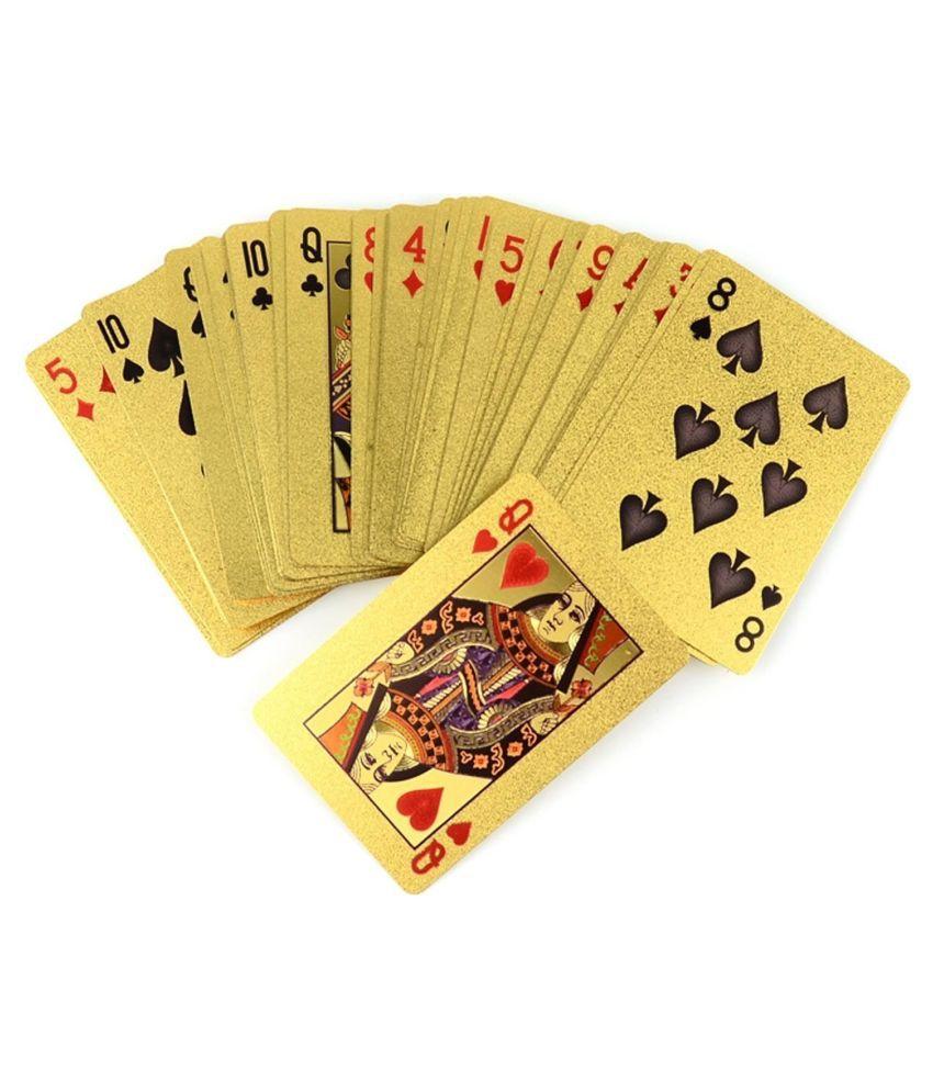 Gabbar Golden Taash Playing Card