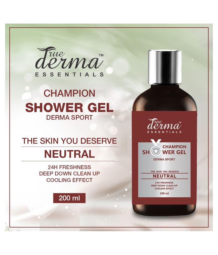 True Derma Essentials 24 Hour Freshness (Champion Derma Sport) Shower Gel 200 mL
