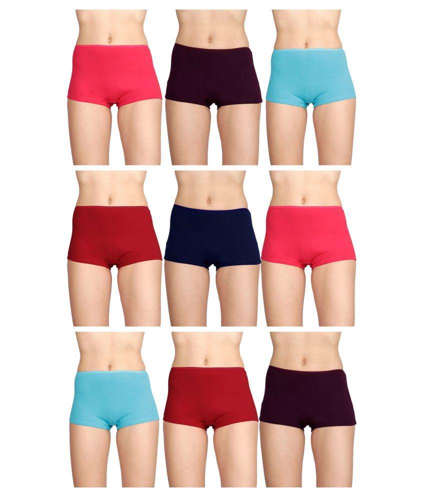 Dixcy Slimz Cotton Boy Shorts