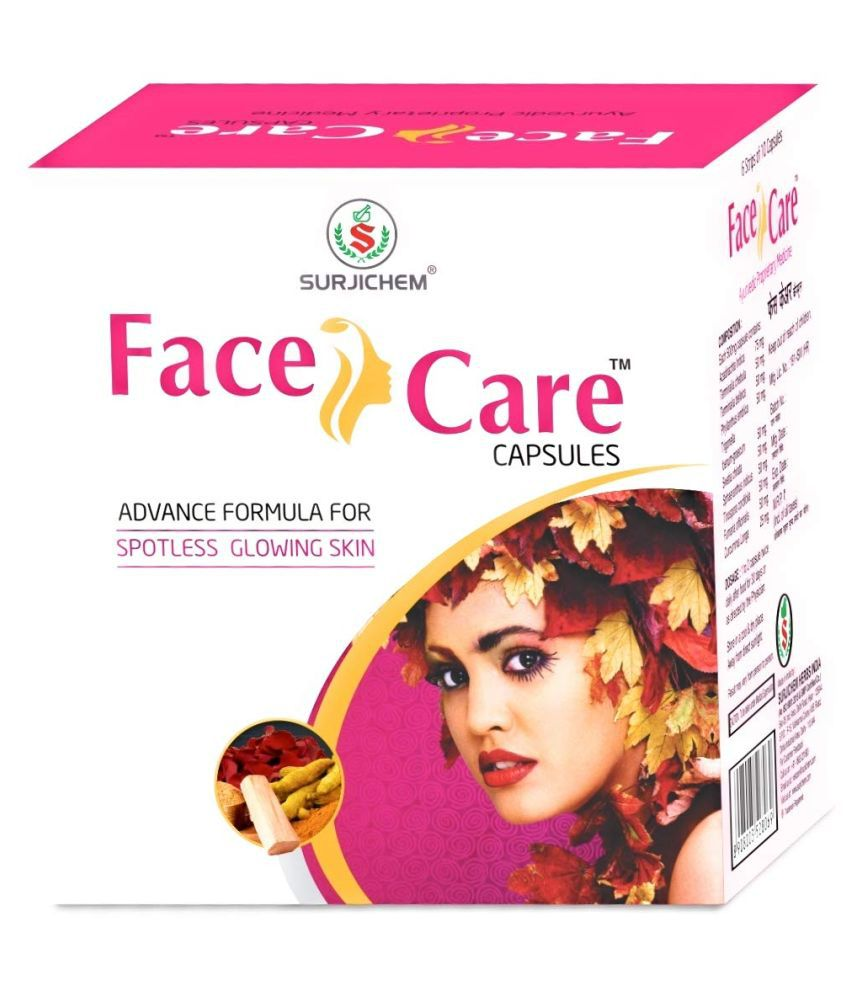 Ms Tackle Surjichem Herbs Face Care Capsule 60 no.s Pack Of 1