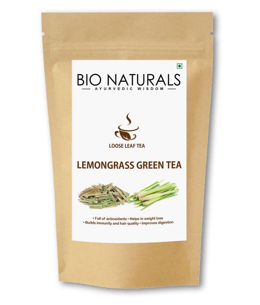 Bionaturals Lemon Grass Green Tea Loose Leaf 100 gm