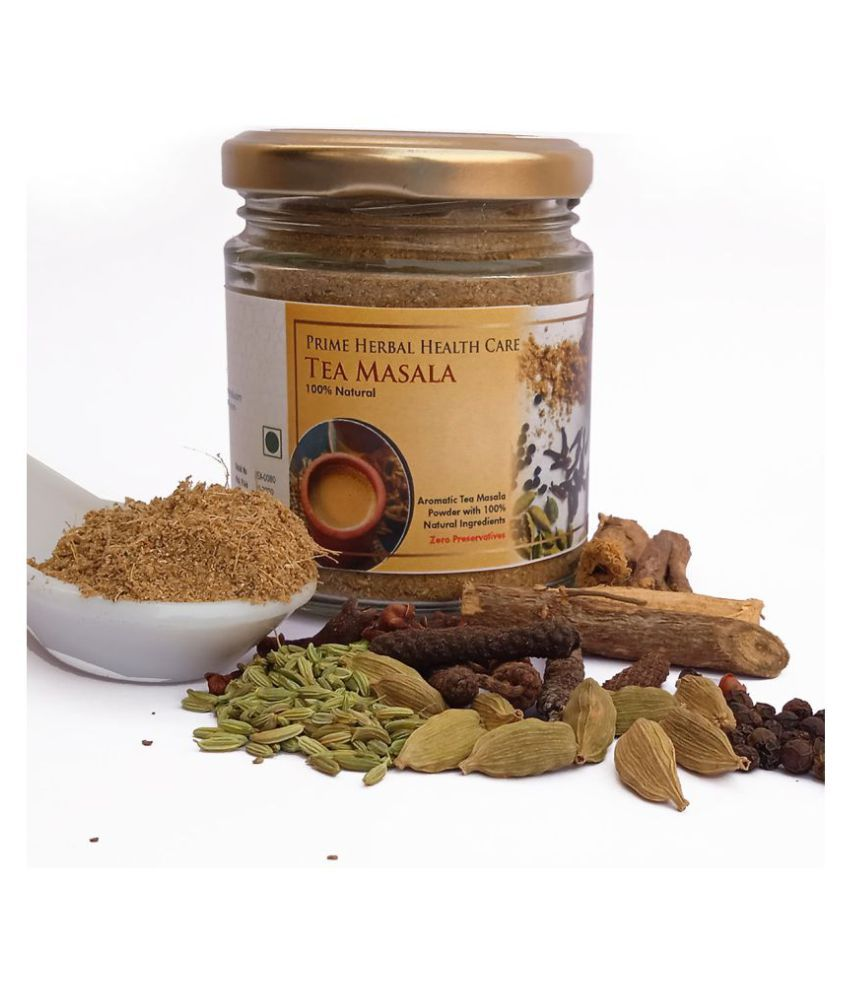 Prime Herbal Health Care Masala Chai Tea Powder Awesome & Aromatic 75 gm