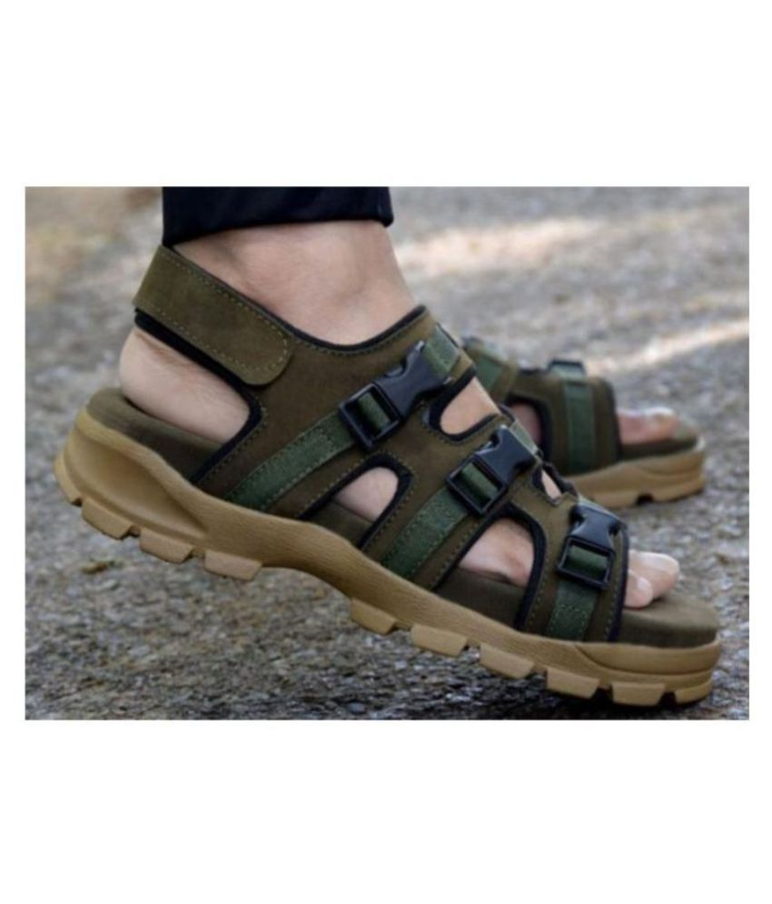 Fashion Victim Green Suede Sandals Price In India Buy Fashion Victim Green Suede Sandals Online At Snapdeal