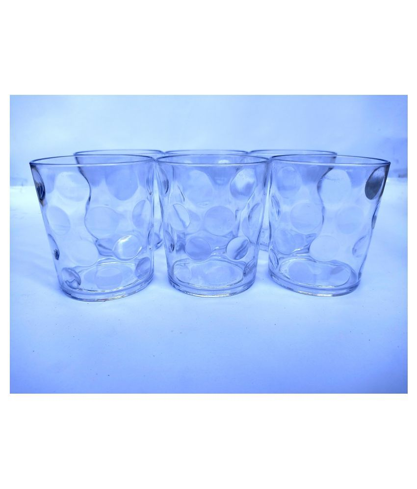 Mithi Home Plastic 310 ml Glasses