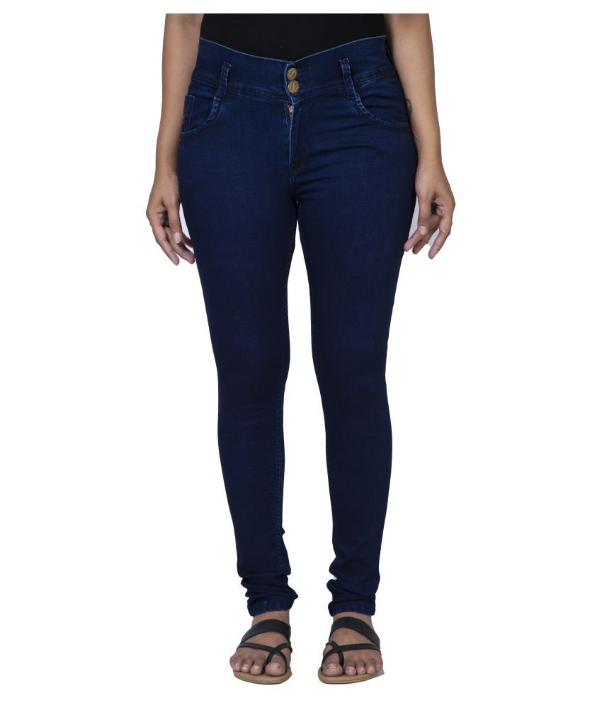 Hot Threads Cotton Jeans - Navy