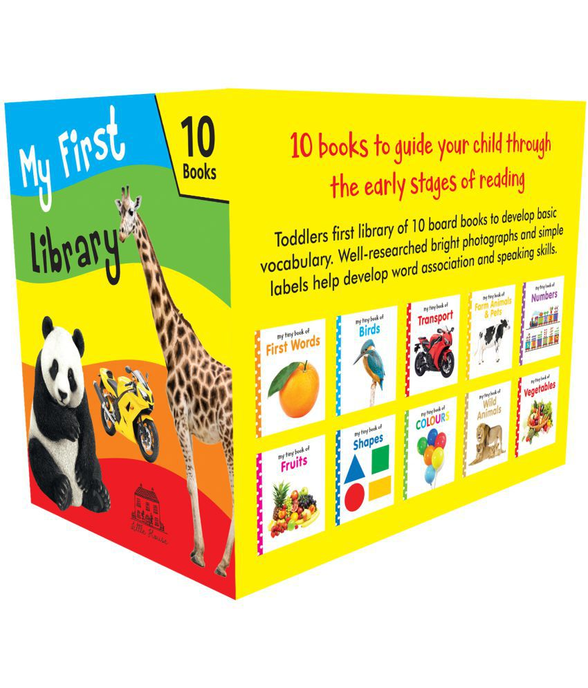 My First Library: 10 Best-Selling Board Books in a Box-Set for Children