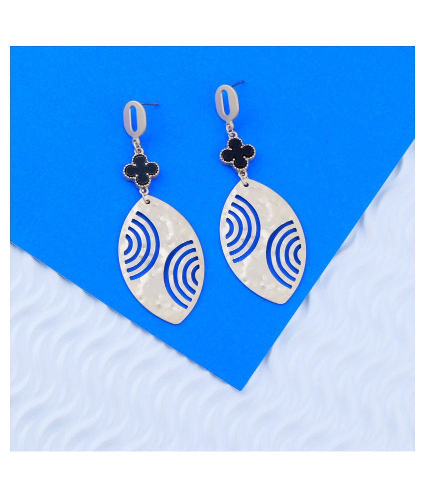 Gold Plated Elegant Party wear Drop Earring For Girls And Women Jewellery