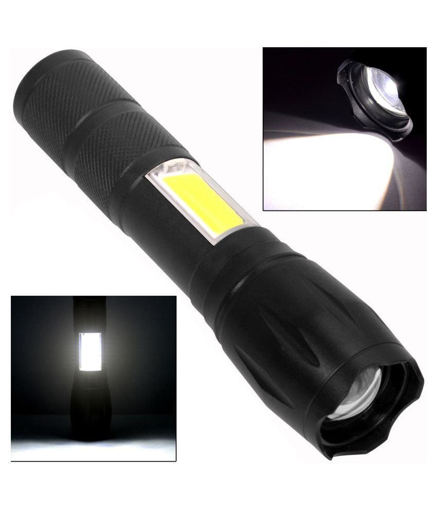 Jm 5W Flashlight Torch 250 M Rechargeable - Pack of 1