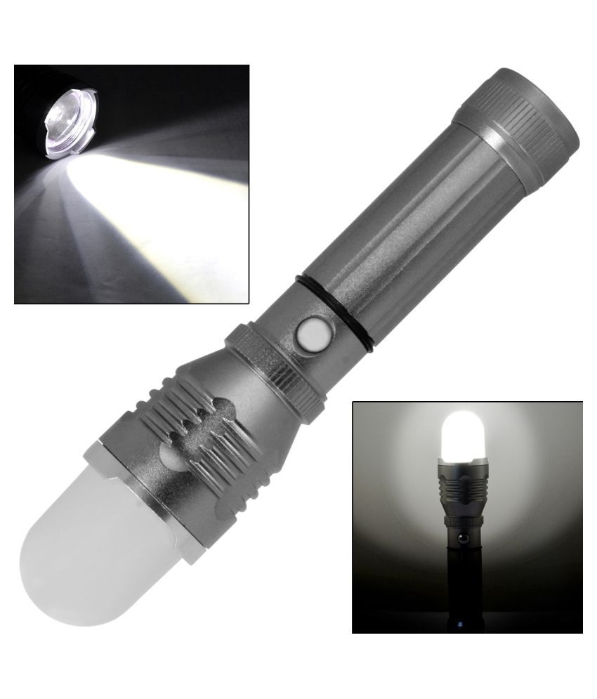 Jm 5W Flashlight Torch 400 M Rechargeable - Pack of 1