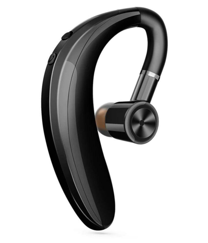 U-KOBA Bluetooth Headset with Mic - Black (Calling & Music Earphone)