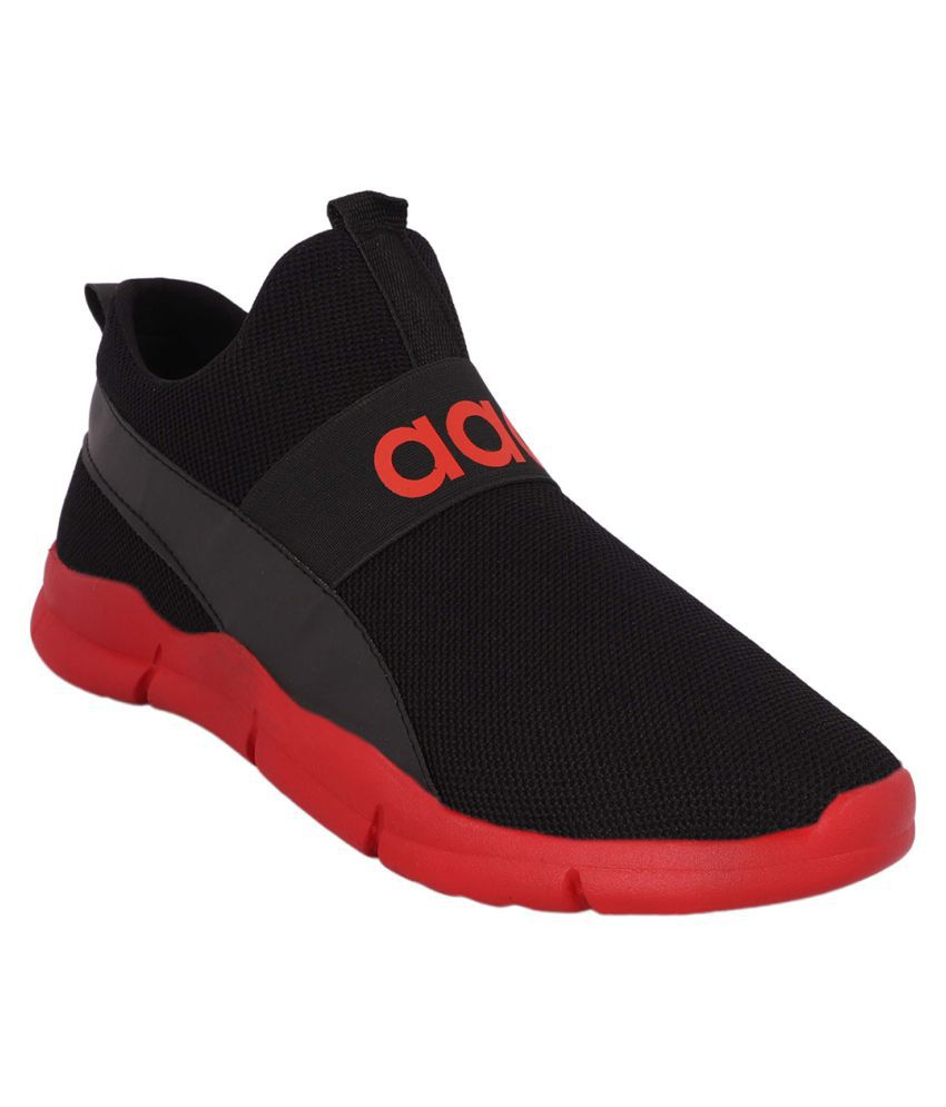 Aadi Men's Sports Running Shoes Red