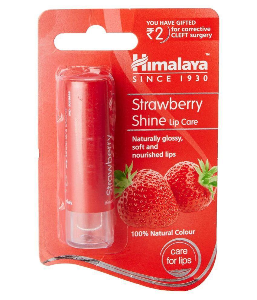 Himalaya Strawberry Shine Lip Care 4.5g (Pack of 2)