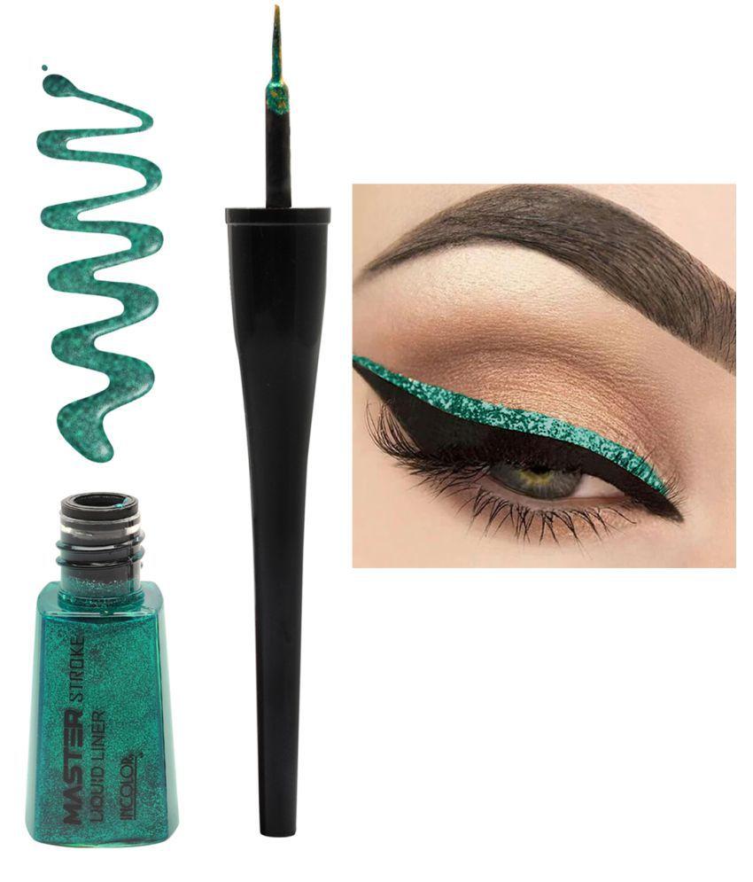 Incolor Master Stroke Eyeliner Shade 09 Envy Green | 6 ml