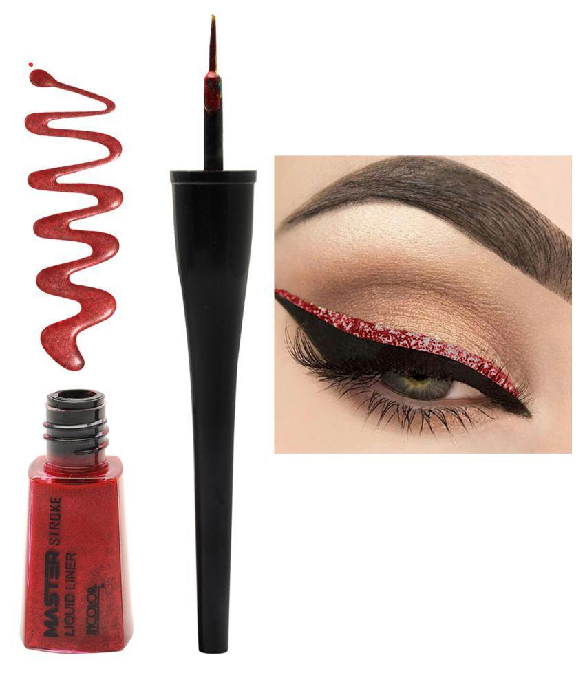 Incolor Liquid Eyeliner Red 6 mL