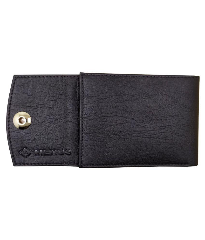 MEXUS PU Black Sport Regular Wallet