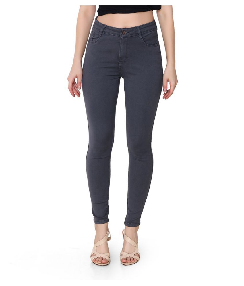 FACTS Denim Lycra Jeans - Grey