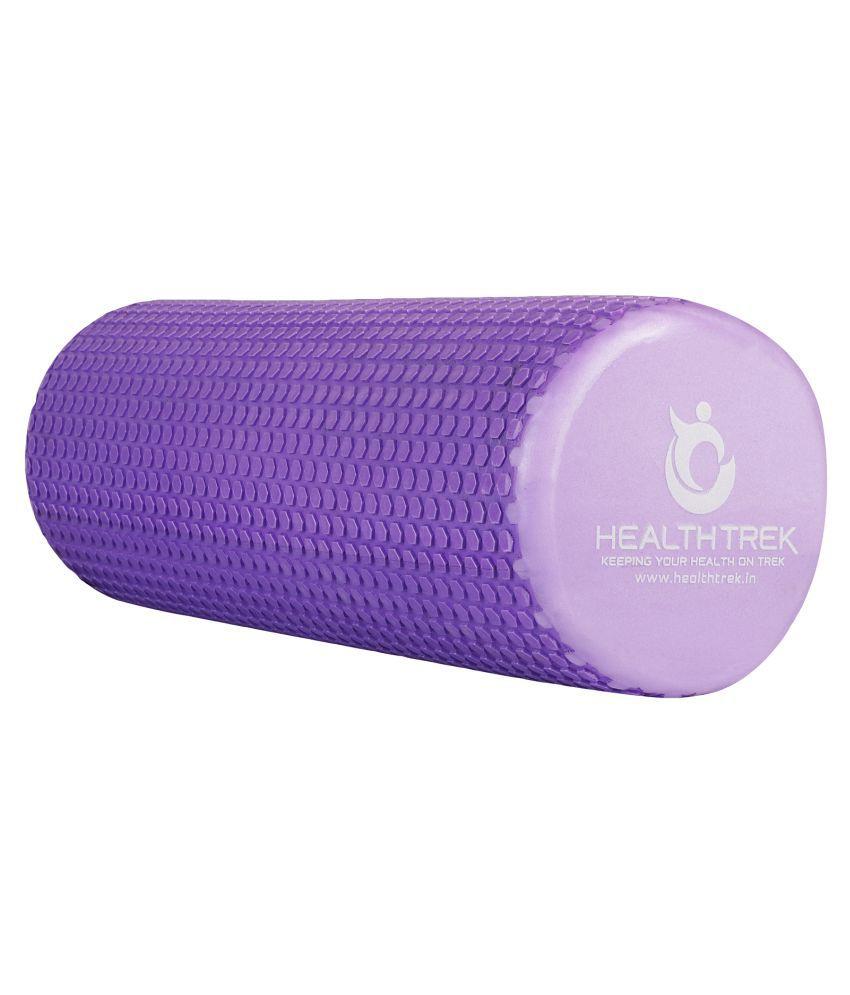 Healthtrek Purple Massage Foam Roller-60cm