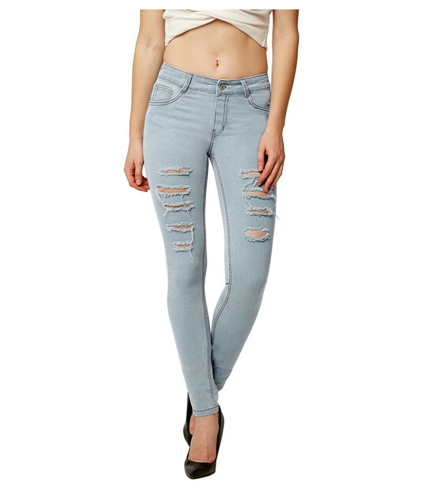 Dolce Crudo Denim Jeans - Blue