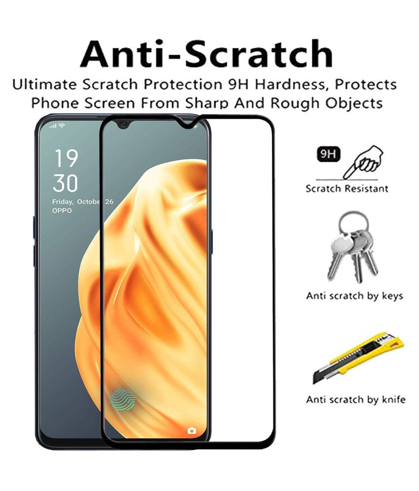 OPPO A8 Tempered Glass by mojomigadget