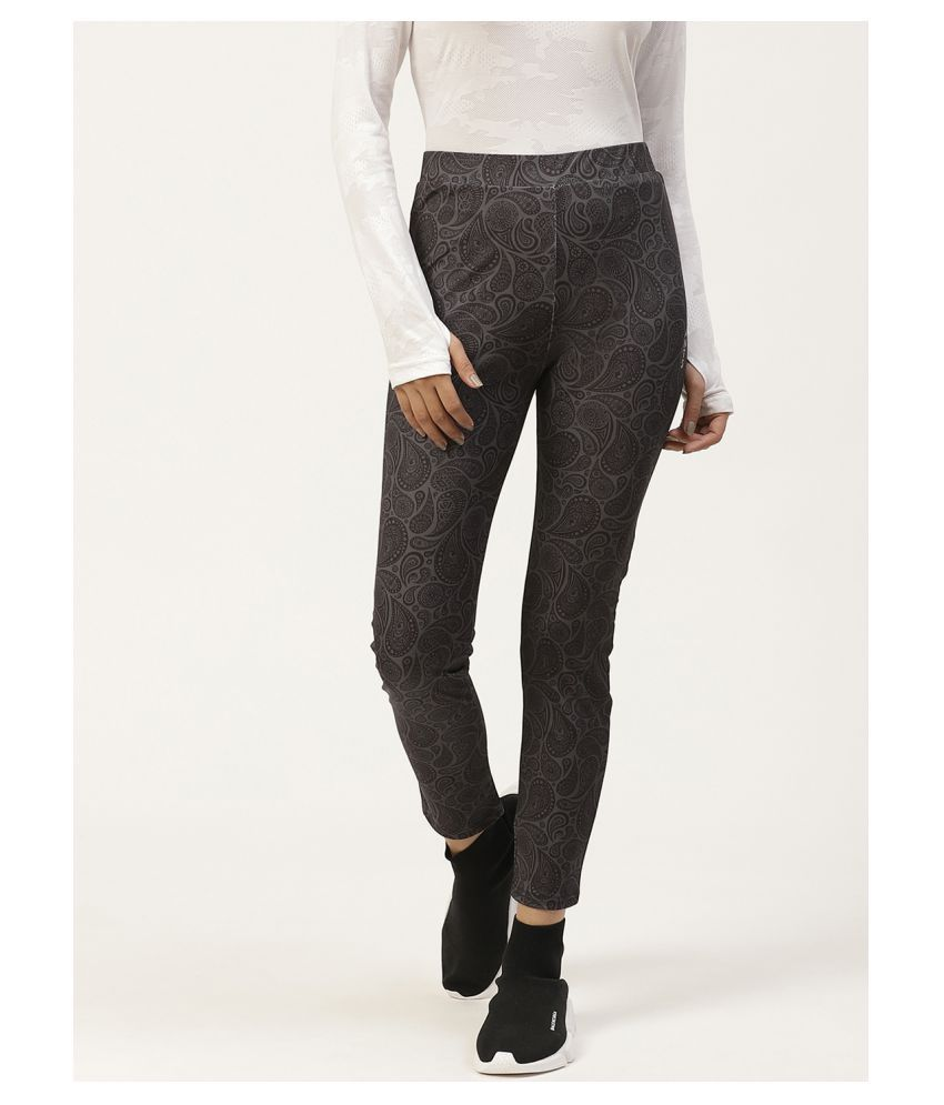 Ants Poly Crepe Tights - Grey