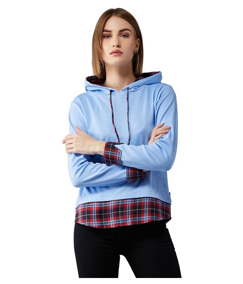 Dolce Crudo Cotton Multi Color Hooded Sweatshirt