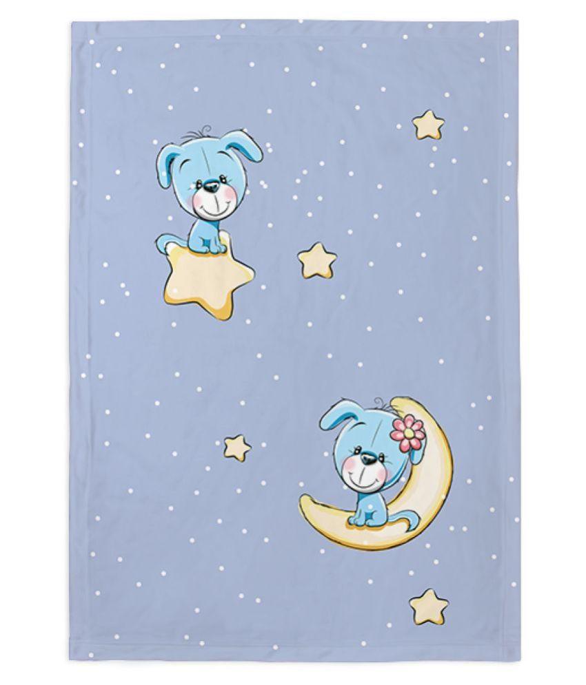 Right Gifting Self Designed Fleece Blanket For Pets (Medium,70 X 100 CM)