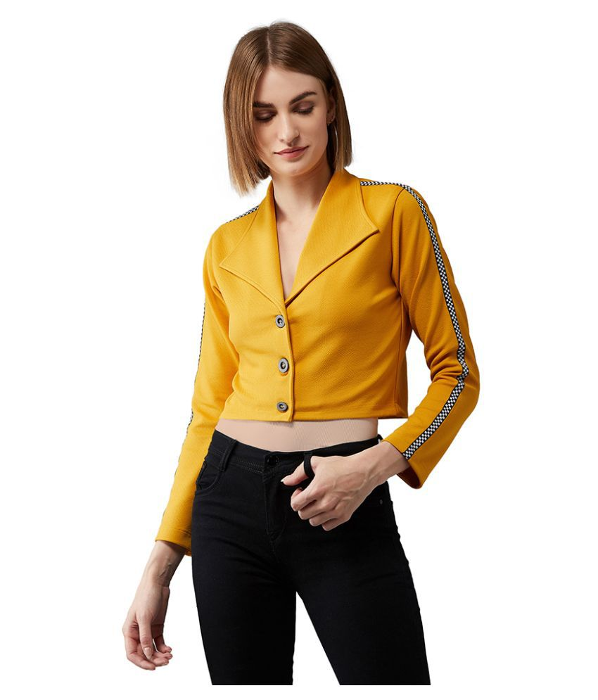 Dolce Crudo Polyester Yellow Jackets