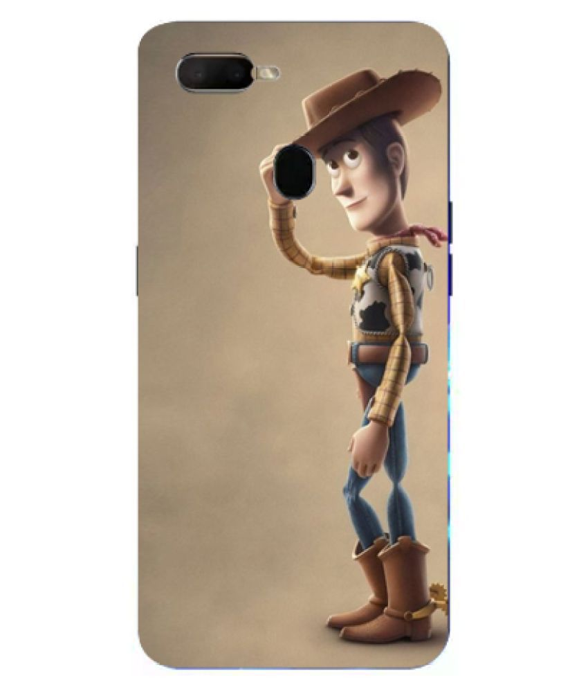 Oppo F9 Pro Printed Cover By Tootena Attractive & Smooth