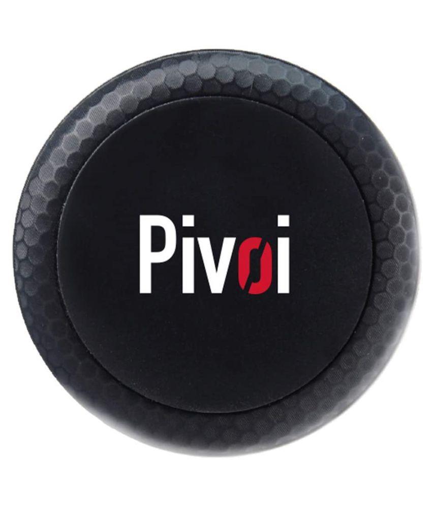 Pivoi Car Mobile Holder Magnetic for Air Vent - Black