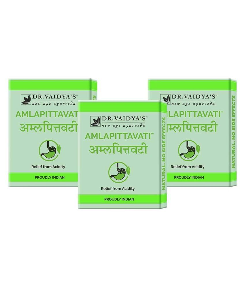 Dr Vaidyas Amlapittavati  Tablet 72 no.s Pack of 3