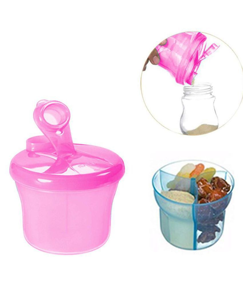 SAFE-O-KID Plastic 1 pc Milk powder containers