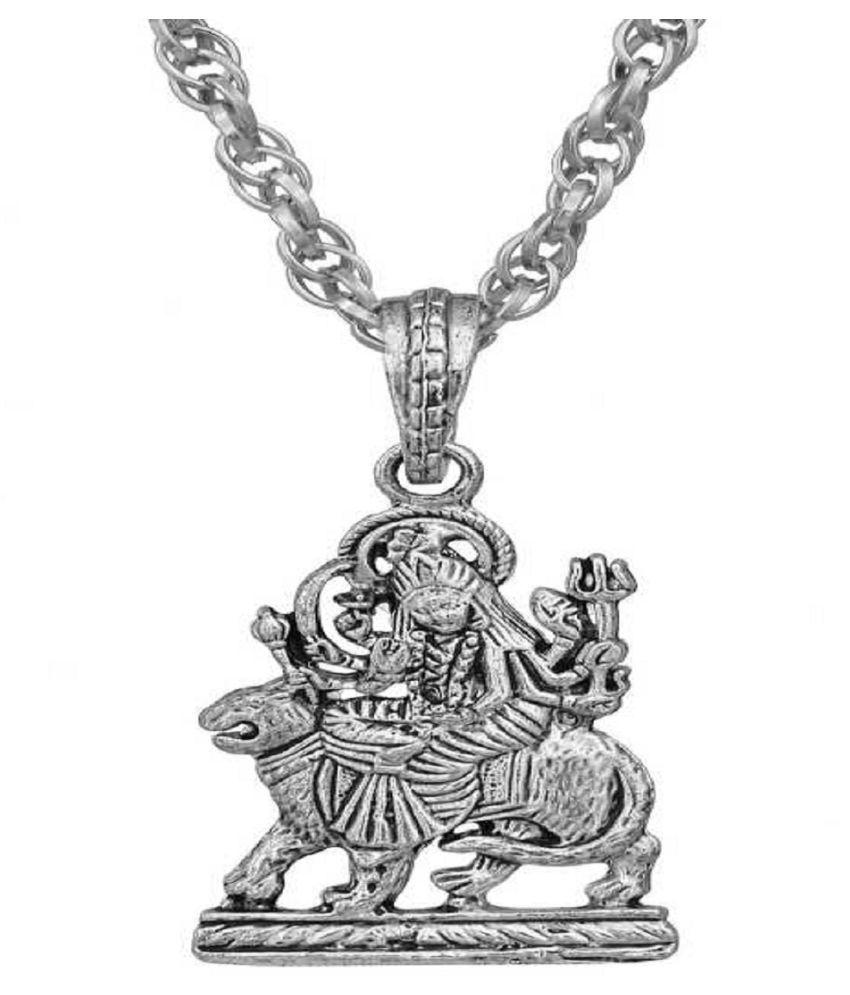 KUNDLI GEMS-Durga Mata Pandent/ (Locket)Without Chian  For Man &Woman  Unisex