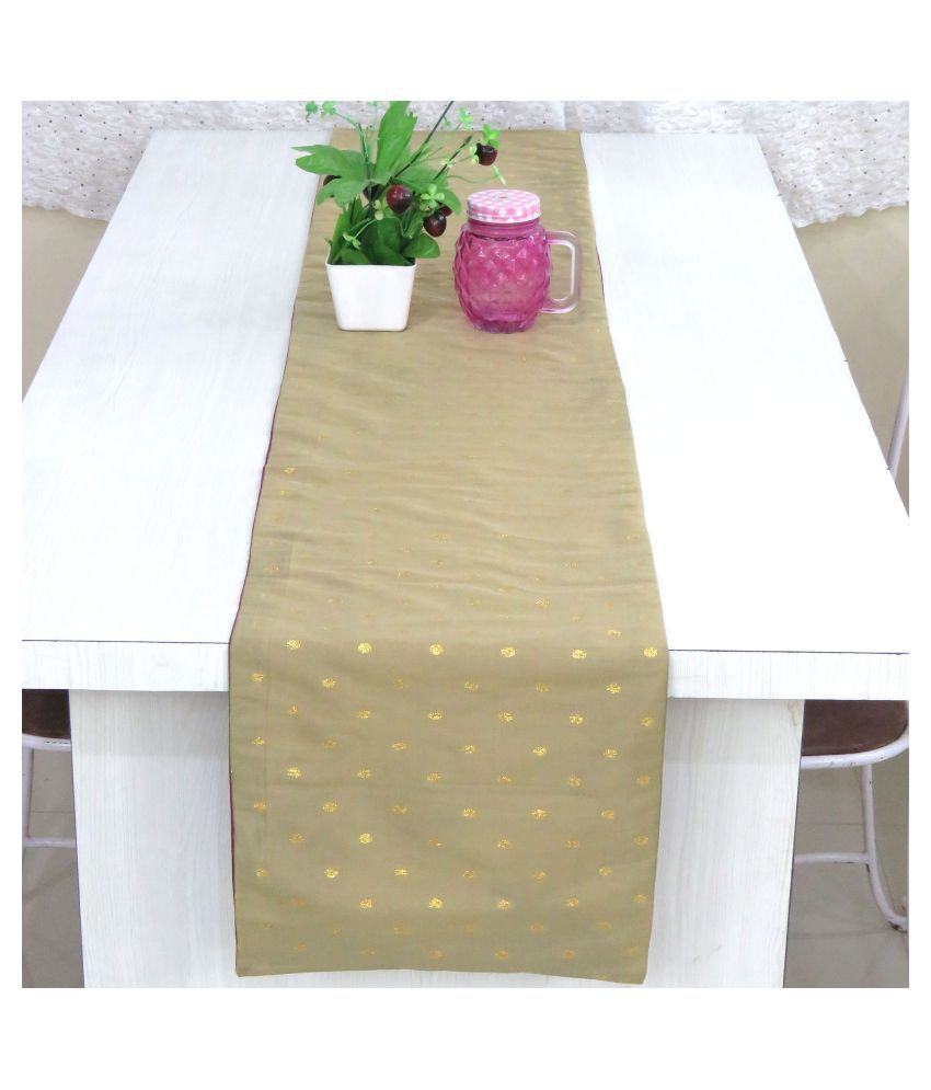 Oussum 4 Seater Silk Single Table Runner